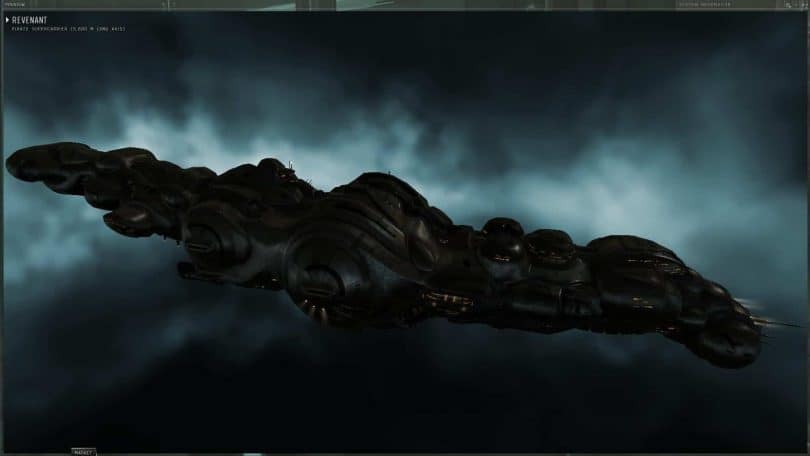 REVENANT SUPER CARRIER DE EVE ONLINE