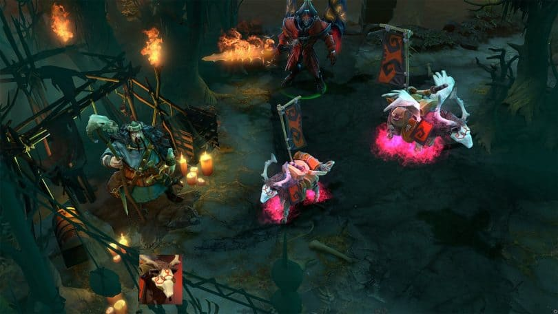 ETHEREAL FLAMES PINK WAR DOG DE DOTA 2